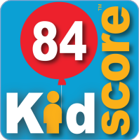 This business's KidScore is: 84