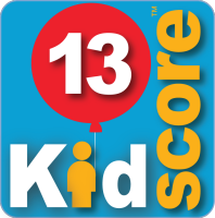 This business's KidScore is: 13