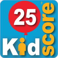 This business's KidScore is: 25