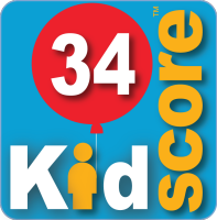 This business's KidScore is: 34