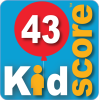 This business's KidScore is: 43