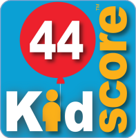 This business's KidScore is: 44