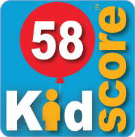 This business's KidScore is: 58