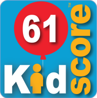 This business's KidScore is: 61