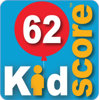 This business's KidScore is: 62
