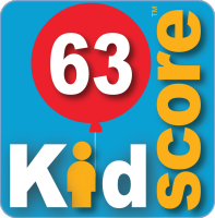 This business's KidScore is: 63
