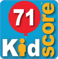 This business's KidScore is: 71