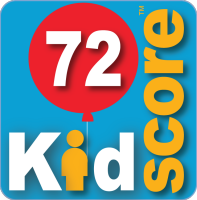 This business's KidScore is: 72