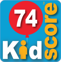 This business's KidScore is: 74