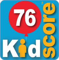 This business's KidScore is: 76