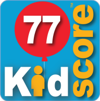 This business's KidScore is: 77
