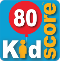 This business's KidScore is: 80