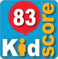 This business's KidScore is: 83