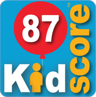 This business's KidScore is: 87
